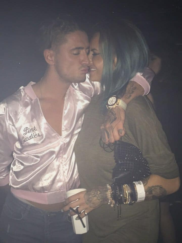 Stephen Bear and Jemma Lucy