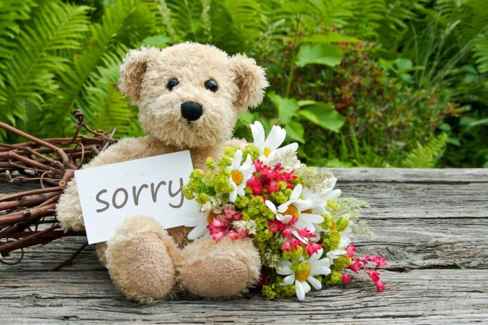 How to gift when you are apologising